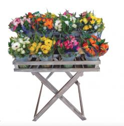 Bouquet Biedermeier 25 cm (32 stems)