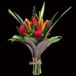 Tropical Bouquet Wild Heliconia Large